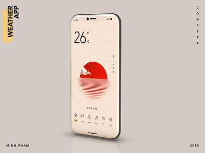 Minimal calendar app ui design graphic animation vietnam app minh pham illustration product design mobile motion interaction ux ui