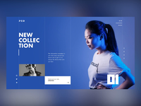 Making a landing page concept using my own photos typography elegant layout minh pham vietnam interaction motion animation landing page parallax photography fashion ux ui web design