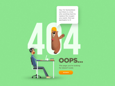 Environmental Preservation - 404 Page