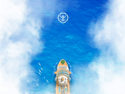 Royal Caribbean App - Real Time Experience 3d interaction animation motion ocean mobile android ios ship travel ux ui app