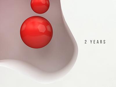 2 Years Anniversary @Fantasy balls vietnam animation logo motion 3d fantasy