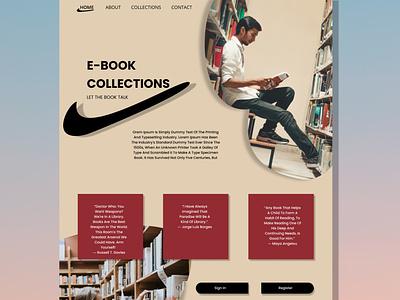 LANDING PAGE app icon ui typography vector branding logo illustration ux design