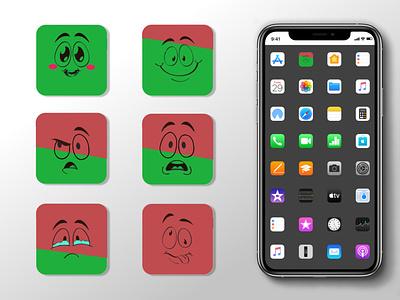 APP ICON - BATTERY LEVEL typography vector ui ux logo illustration icon branding app design
