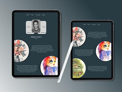 USER PROFILE vector typography ui logo illustration icon branding app ux design