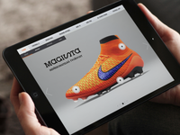 Nike Football trials iPad