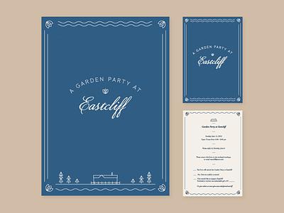 Garden Party Invite eastcliff river invitation party garden