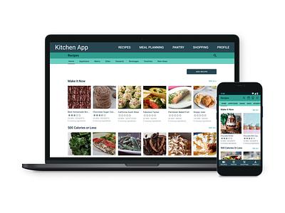 My Kitchen Recipe App app