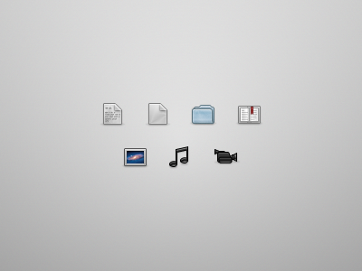 Filetype Icons text other archive folder bookmark image audio video icons filetype fireworks icon