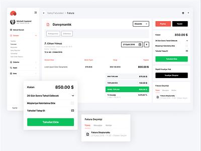 Paraşüt redesign design web ui