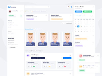 Humanlab product design web app ui
