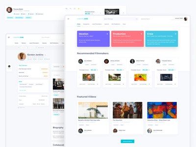 Curation Zone product design ux ui