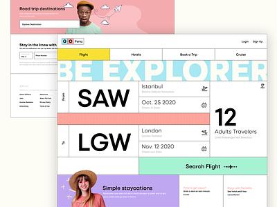 GOFeria web design product design design ui