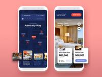 Invision Studio - Hotel Concept