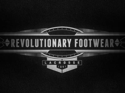 Revolutionary footwear mark