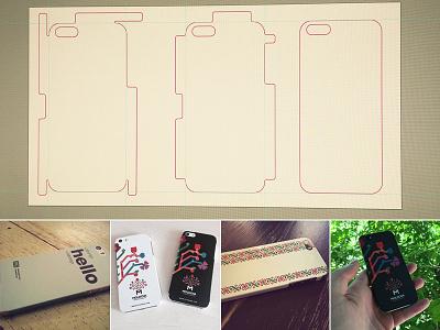 iPhone 5/5s skin template evolution sticker evolution phone skin 5s 5 iphone