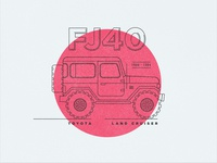 Toyota Land Cruiser FJ40 - Sticker / Device Skin