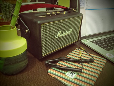 Office ideas - Marshall Kilburn iPad mini skin ideas office speaker bluetooth kilburn marshall sticker skin mini ipad