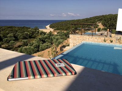 iPad 2 matte skin @ Thassos, Greece :) travel sea greece thassos trip stickerspub sticker skin ipad