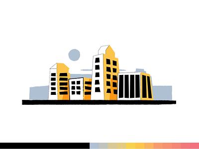 Real Estate realestate design flat 2d vector styleframe illustration animation