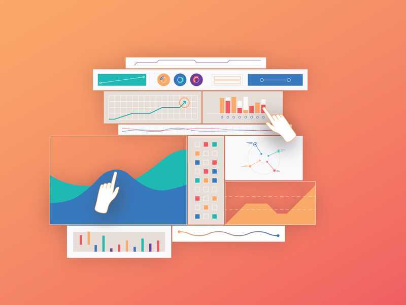 Dashboard animation design design illustraton colours vector style style frame artificial intelligence animation
