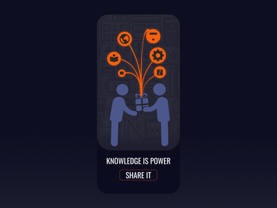 Mobile UI : Knowledge is Power knowledge is power mobile app