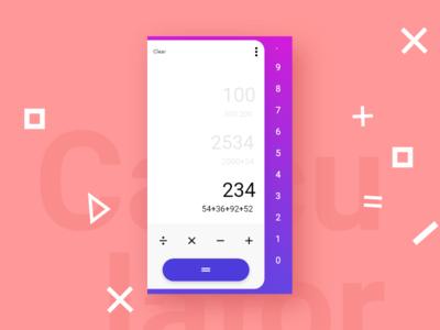 Calculator Redesign Concepts