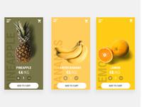 Fruit / Vegetable Ordering