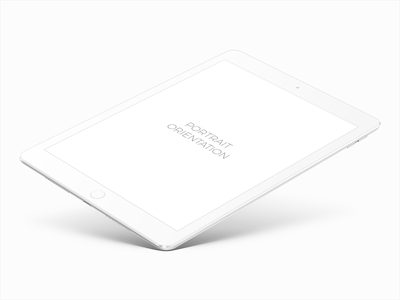 Ipad Pro 9.7 White Mockup smart object psd white pro ipad mockup free