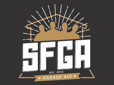 SFGA Logo logo label beer ale garage