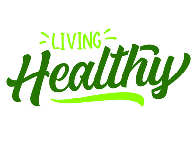 Living Health Logo typography design logo