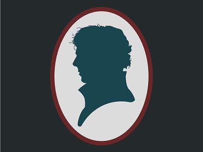 Sherlock silhouette vintage sherlock cameo