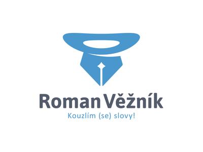 Roman Věžník (new) hat pen wizard magician copywriter