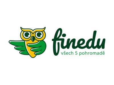 Finedu education animal wings finance owl