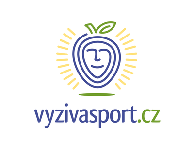 VyzivaSport line logo strawberry plum sport exercise diet nutrition