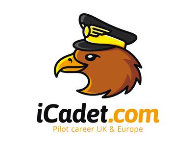 iCadet mascot bird pilot eagle cadet
