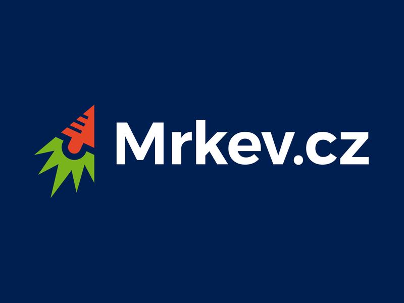 Mrkev logo rocket digital cursor carrot