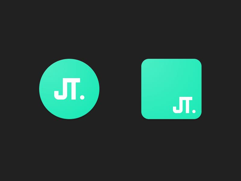 Personal logo designs grey mint toro javi logo personal