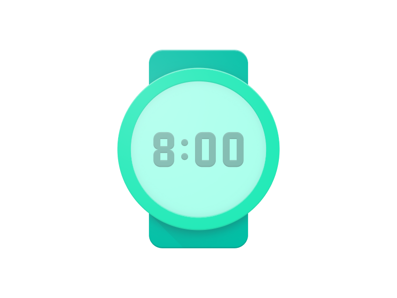 Pixel Perfect Watchface wear watchface pixel perfect icon digital clock app android