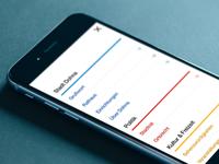 mobile navigation, responsive webdesign, city