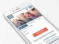 responsive onlineshop & mobile navigation (study)