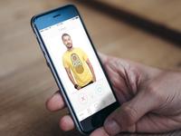 t-shirt app / e-commerce (study)
