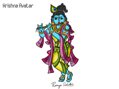 Browse Thousands Of Krishna Images For Design Inspiration Dribbble