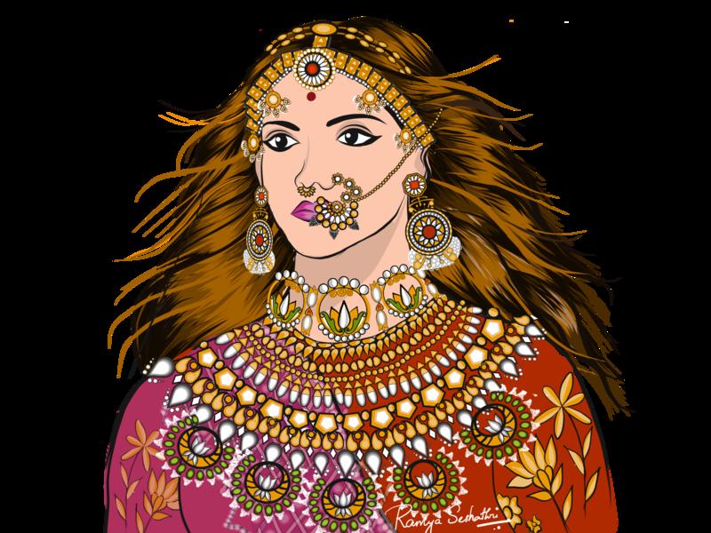 Padmavati - Fan Art
