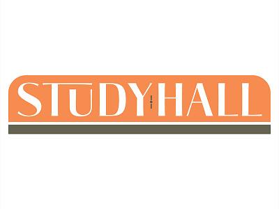 Study Hall Logo chicago retail logo design