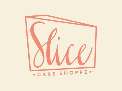Slice Cake Shoppe Logo