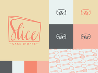 Slice Cake Shoppe Branding WIP