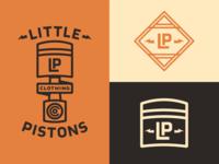 Little Pistons Logo Concepts