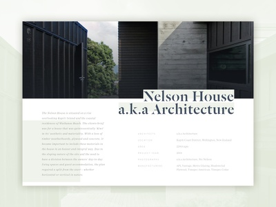 52 Layouts — 04 sketch editorial print article website architecture layout chronicle text brandon grotesque dala floda ui cyber