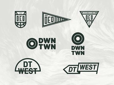 Unused visual identity concepts entertainment orlando basketball sports identity logo visual identity