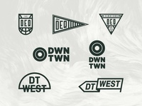 Unused visual identity concepts